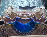 AquaTheater show from Deck 16