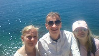 Our family in Nice