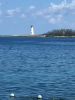 View from Junkanoo Beach in Nassau