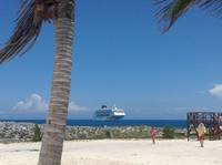 Great Stirrup Cay, the private Norwegian Cruise Line island.  Magical.  Be