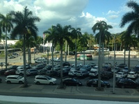 View from 3rd floor room at Holiday Inn - Port of Miami of Bayside directly