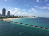 View leaving Port of Miami