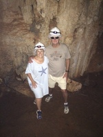 Excursion...Hidden Gems. Just before we went swimming in the cave.