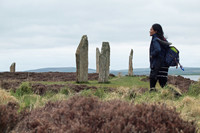 The magical Ring of Brodgar part of the Skara Brae excursion on Orkney. A q