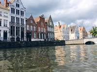 Another picture whilst on the canal in Bruges