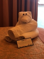 A different towel animal left every day!