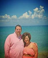 Beachside in Cozumel. Holy cow it was hot, even in September! And my wife m