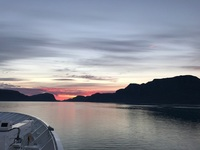 Sunset in the Fjords