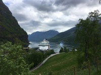 Docked in Norway