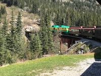 SKagway white pass train