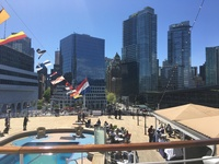 View of Vancouver from Rear of Noordam