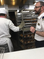 Galley tour, bread ovens