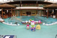 Seeing all of the towel animals on our last day of the cruise was a fun sur
