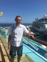 On the rear sunbathing deck of TUI Discovery 2