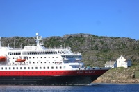 M/S Kong Harald arriving into Bodø