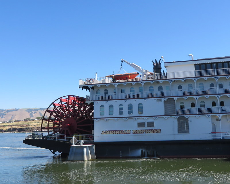American Empress docked at Richland, WA