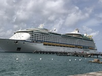 Adventure of the Seas in Martinique