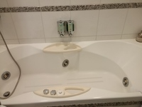 Jacuzzi tub in AFT suite 8077 Sky