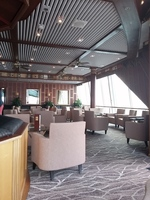 General view of the Outrigger lounge on Sky