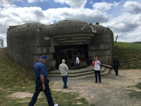 Gun Battery in Normandy