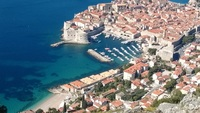 Dubrovnik, Croatia from the Cable Car.