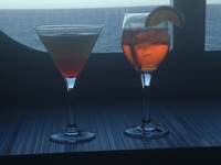 Drinks in Martini Bar