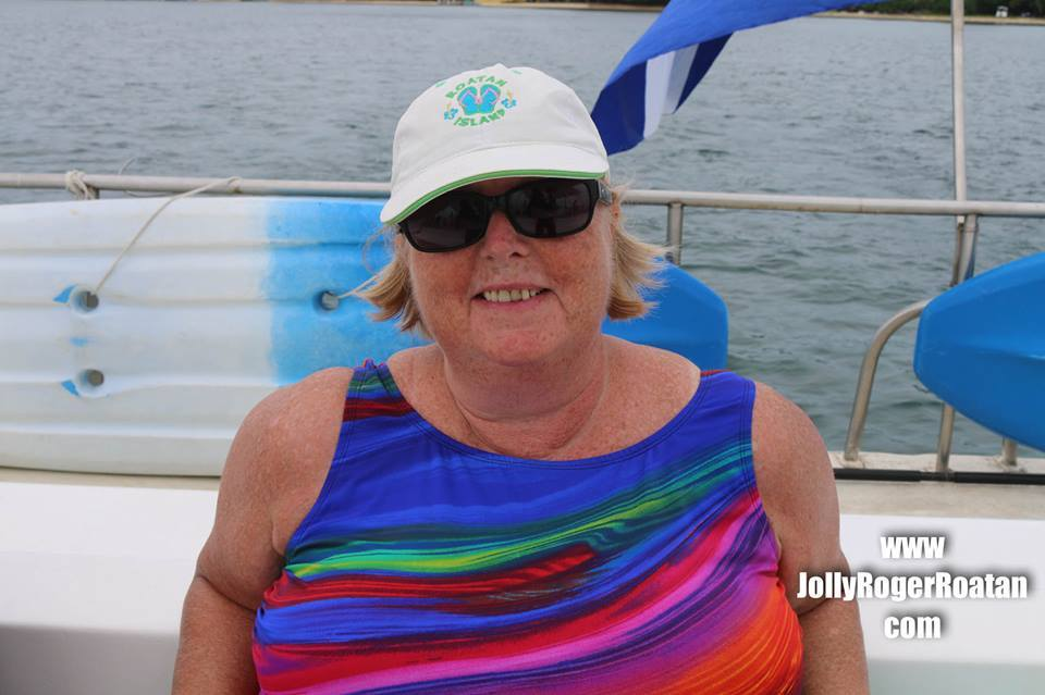 Jolly Roger snorkeling in Roatan!  Great excursion for all!