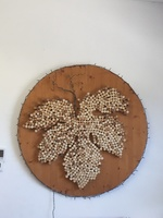 Wine art at Bodegas Jose` L. Ferrel.  Wine here is wonderful and the staff