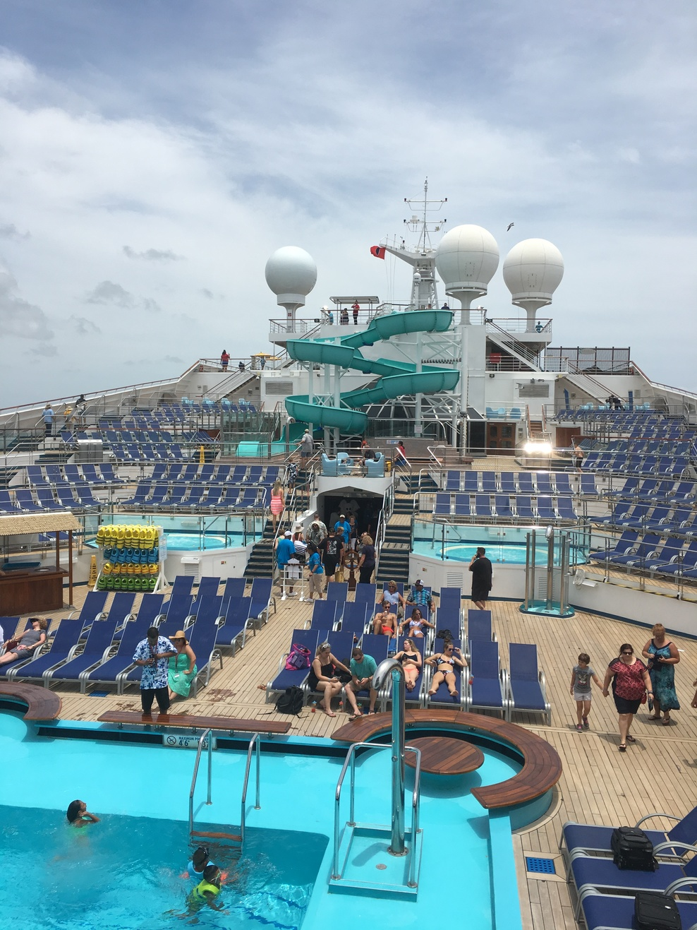 Pool Spa Fitness On Carnival Freedom Cruise Ship  Cruise Critic