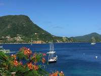 The bay at Isle des Saintes