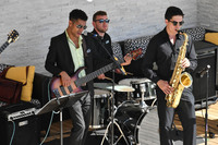 Regatta band at sail-away -- they were quite talented