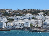 Upside down view of Mykonos!