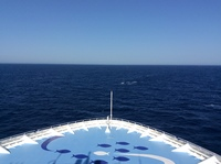 Heading across the Med...