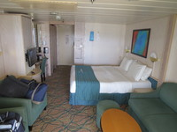 Stateroom As Viewed from Balcony Door