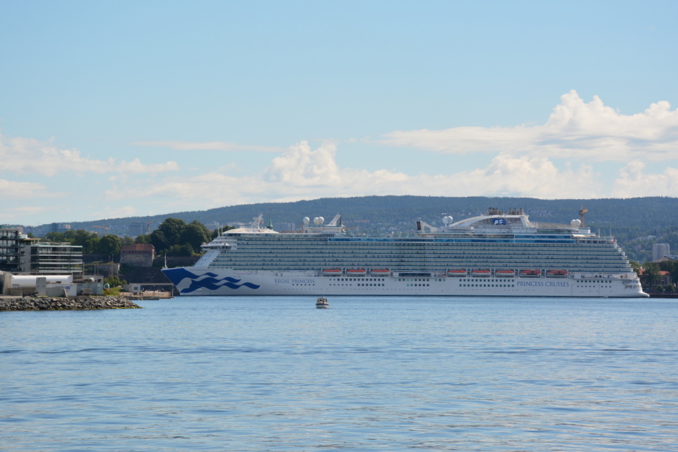 Regal Princess at Oslo Port