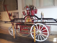 Visiting Fireman's Museum in 'The Dalles' Washington.