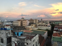 Rooftop Bar and Restaurant of Hemmingways Ambros in Havana