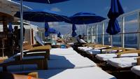 The Vibe Beach Club on deck 19 (private access only)