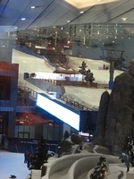 Ski Slope in the Mall at Dubai