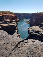 Top of King George Falls