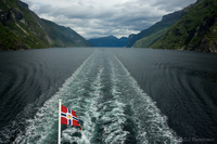 Geirangerfjord from the ship