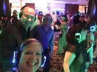 We all loved the silent disco.  It was such a blast!