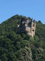 Scenic cruise on the Middle Rhine