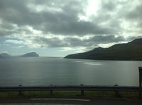 Dramatic landscape of the Faroe Osles