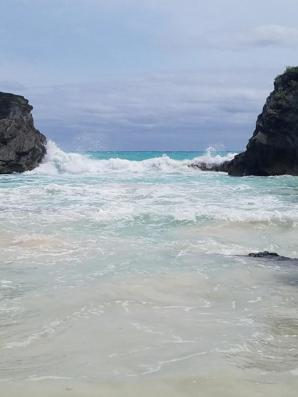 Horshoe Bay Beach secluded spot
