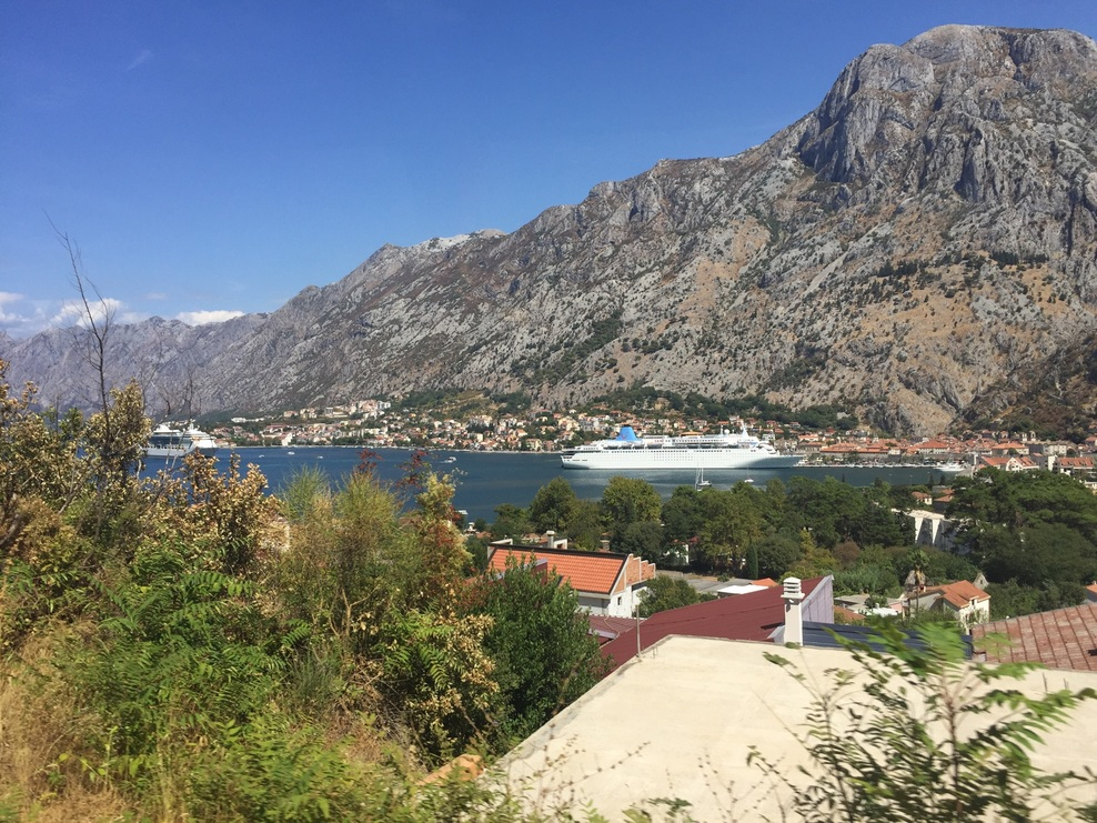 Picture of the ship taken in Montenegro