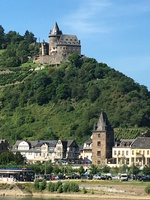Photo of castle taken on the Rhein  while ship was cruising