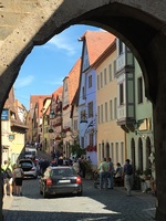 On our day excursion to Rothenburg. Great day