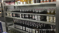 Behind the Scenes All Access tour - Alcohol stores - very important!