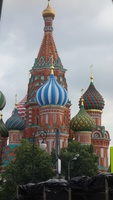 Saint Basil's Catherderal in Red Square of Moscow